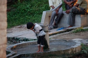 handpump 4 the villagers - each family spends 30 min to 4 hrs on just carrying water.